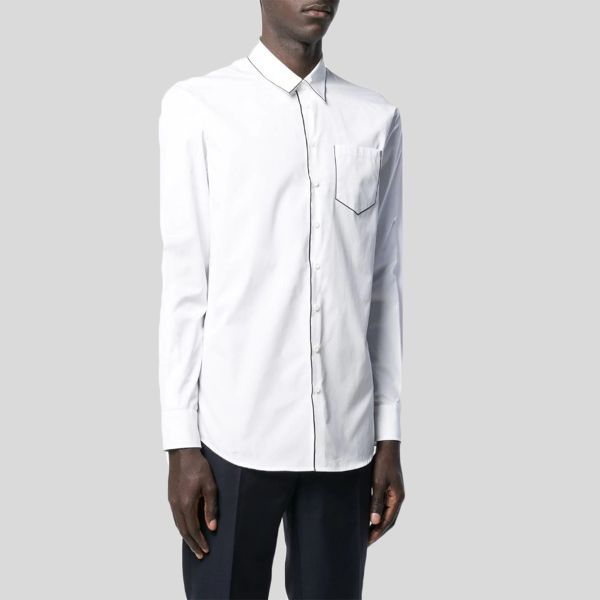DSQUARED2 ディースクエアード コントラストパイピングポケットシャツ Contrast Piping Pocket Shirt