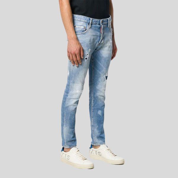 DSQUARED2 ディースクエアード デニムストリートスタイルプレーンジーンズ Denim Street Style Plain Jeans