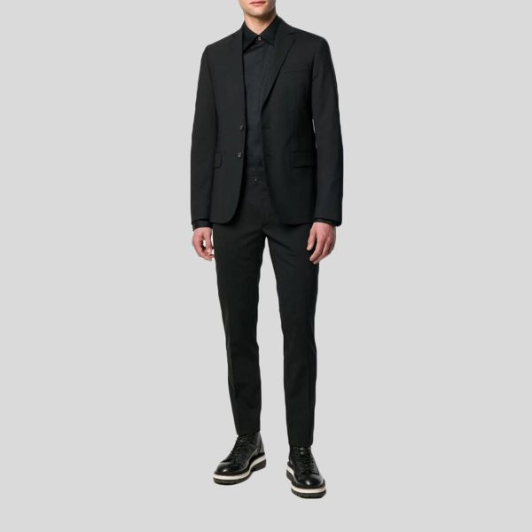 DSQUARED2 ディースクエアード ツーピースブラックスーツ Two-Piece Black Suit