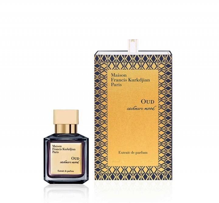 ウードの香りをぜいたくに使用したオリエンタル ノートのフレグランス Maison Francis Kurkdjian メゾン フランシス クルジャン ウード 選択 カシミア ムード OUD mood Extrait cashmere 70ml パルファム お気に入 デ エクストラ de parfum