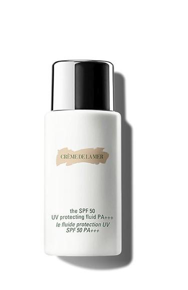 毎日ご使用いただける日焼け止め化粧下地 DE LA MER ドゥ ラ メール ザ SPF 与え 50 プロテクティング PA+++ 奉呈 50ml Protecting フリュイド Fluid UV The SPF50