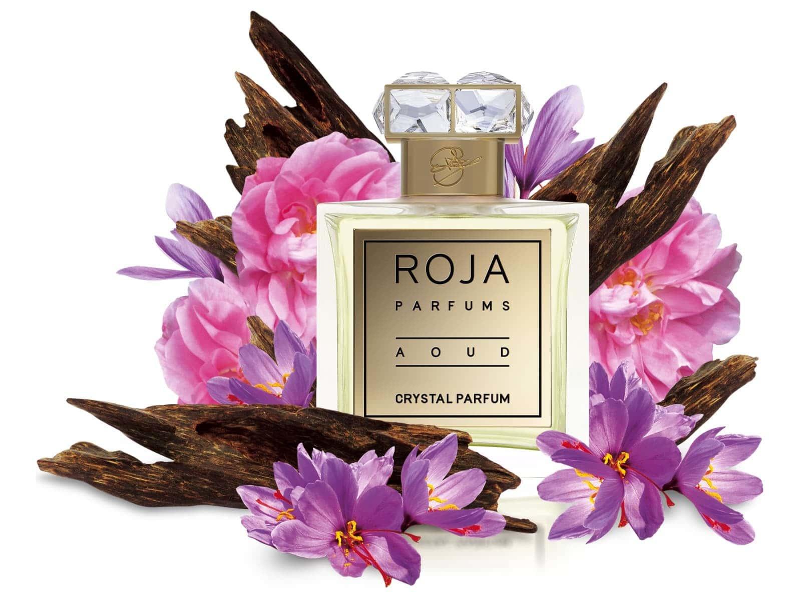 Roja ロジャ オード クリスタル Aoud Crystal Perfume EXDP 100ml