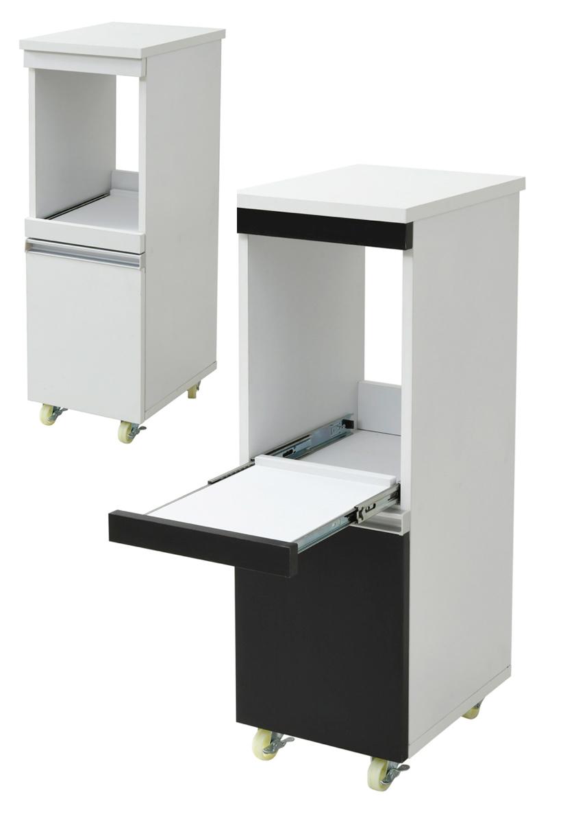 スリムラック すき間 キッチンすきま収納 隙間家具 すき間家具 マーケティング 激安セール 幅30cm 送料無料 アウトレット価格 卓出 家電ラックロータイプ
