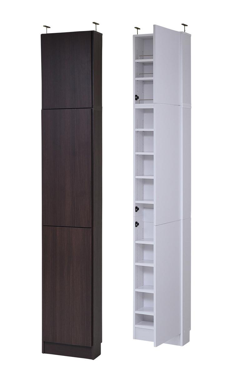 MEMORIA 棚板が1cmピッチで可動する 薄型扉付幅41.5 上置きセット 送料無料 激安セール アウトレット価格