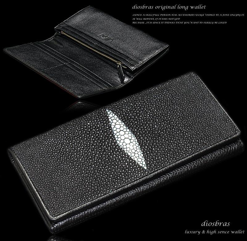 6809e0a6e84a スリム 本革 レディース スティングレイ メンズ レザーウォレット レザーウォレット メンズ短財布 エイ革