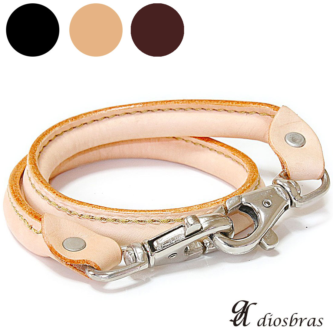 2179d1c3ceeb diosbras  It is a real leather leather wallet chain material