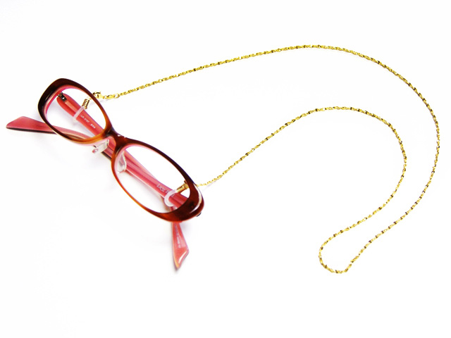 今ならポイント20倍 14時迄の注文で当日出荷 定休日除く メガネチェーン グラスコード メガネコード 眼鏡コードお洒落なグラスチェーン 老眼鏡 サングラスストラップ シニアグラス 新登場 商品到着後にレビューを書いて次回使えるクーポンをGET 新品■送料無料■ チェーンタイプ 紐 CG-104 ゴールド