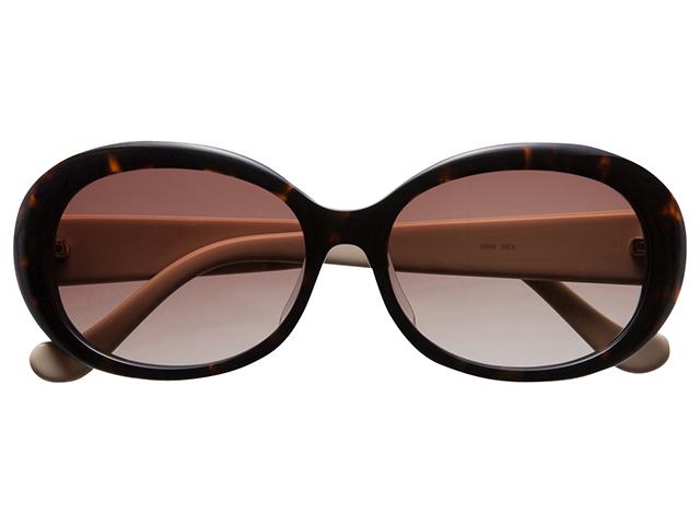 サングラス オーバル バタフライ べっ甲色/デミ メンズ レディース 紫外線カット/UVカット 花粉症対策 美白効果 白内障予防や眼病予防にも最適! 0548DEX