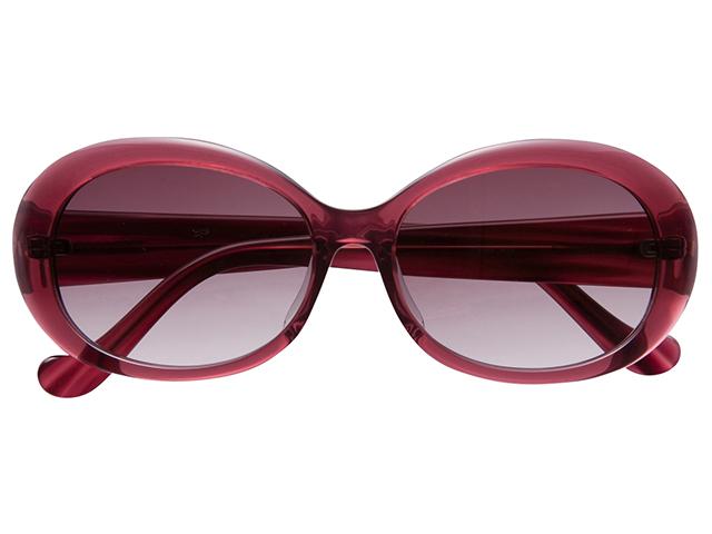 サングラス オーバル バタフライ ワインレッド メンズ レディース 紫外線カット/UVカット 花粉症対策 美白効果 白内障予防や眼病予防にも最適! 0548WN