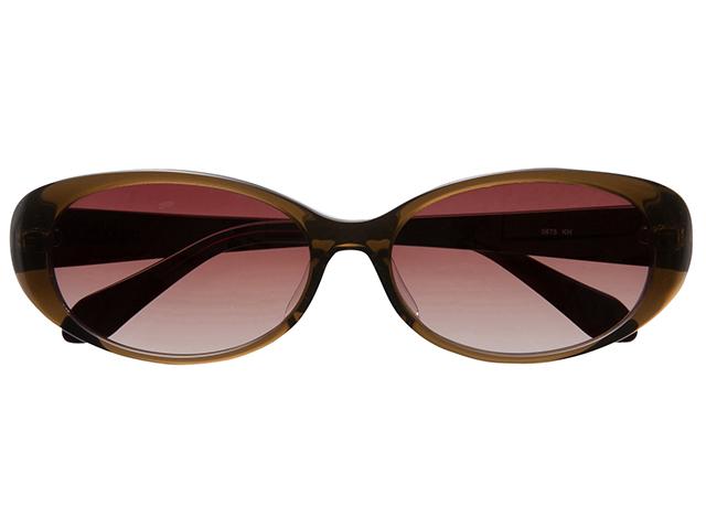 サングラス オーバル バタフライ カーキ メンズ レディース 紫外線カット/UVカット 花粉症対策 美白効果 白内障予防や眼病予防にも最適! 0675KH