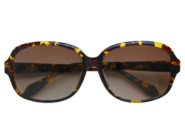 サングラス オーバル ブラウン/デミ メンズ/レディース 紫外線カット/UVカット 花粉症対策 美白効果 白内障予防や眼病予防にも最適! B60525DEMI
