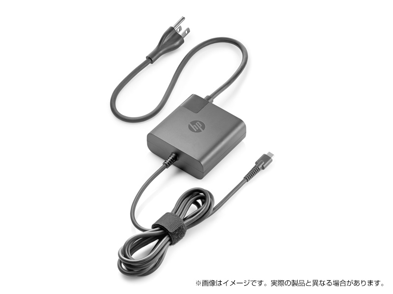 ACアダプター HP 65W USB Type-C AC 実物 型番:X7W50AA-AAAK Spectreシリーズ専用 型番:X7W50AA#ABJ ※HP 蔵 アダプター
