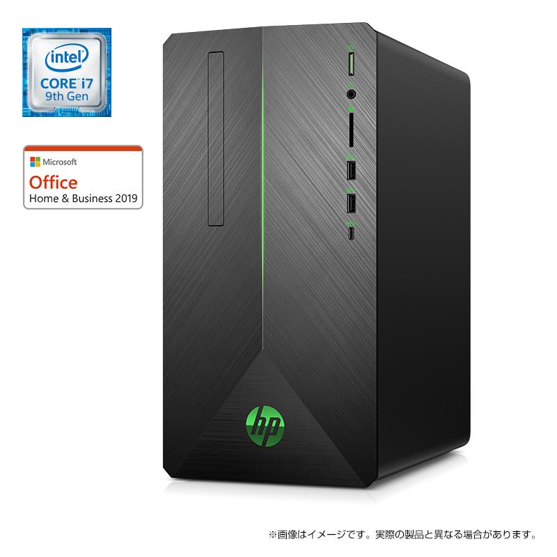 Core i7 16GBメモリ 1TB HDD HP Pavilion Gaming Desktop 690(型番:6DW29AA-AAAR)eスポーツ ゲーミング ゲーミングPC ゲーミングパソコン クリエイター デスクトップパソコン Office付き 新品