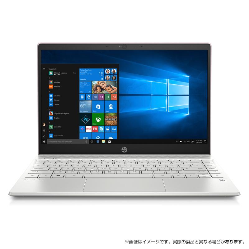 【4/26 1:59までエントリーでポイント最大31倍】 Core i5 8GBメモリ 256GB SSD (超高速PCIe規格) 13.3型 FHD IPS液晶 HP Pavilion 13 (型番:5YT22PA-AAAC) ノートパソコン office付き 新品 SAKURA(2019年2月モデル)