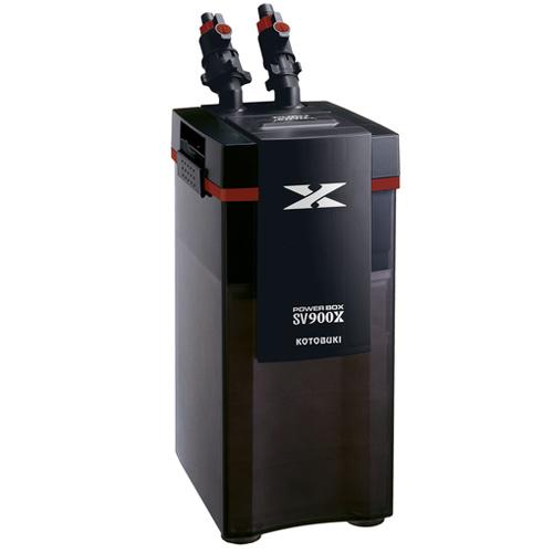 4種類のろ過材標準装備 コトブキ パワーボックス SV900X 外部フィルター 評価 水槽用 クリアランスsale 期間限定 淡水 海水両用