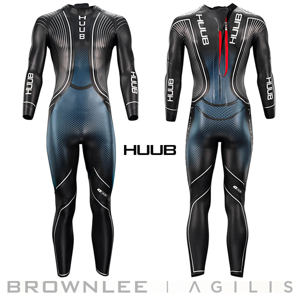 【今なら先着でトライスーツをプレゼント!!全国送料無料!】男性用 HUUB フーブ トライアスロン用 最高級 ウェットスーツ ブラウンリー アジリス Brownlee Agilis トライアスロン専用ウエットスーツ Triathlon Wetsuit メンズ