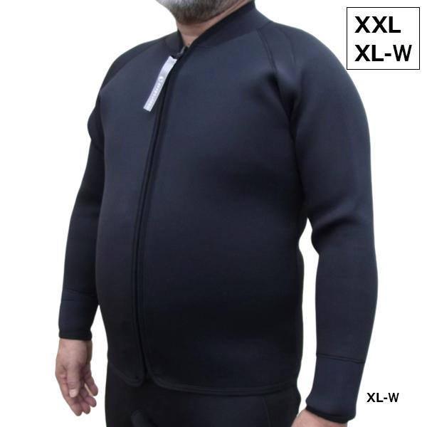 【全国送料無料!】deepoutdoors ディープアウトドア 3mm ジャケット XXL XL-W Jacket ネオプレーン ウェット フロントジップ ウエット deep putdoors