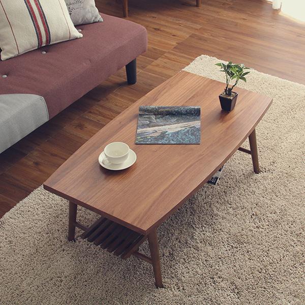 こたつ タイプ テーブル コンパクト 薄型ヒーター 省エネ こたつテーブル 長方形 ウォールナット 折りたたみ式 日本製 完成品
