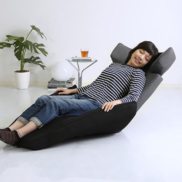 座椅子 リクライニング 座いす 一人掛け リクライニングチェア 腰痛 メッシュ