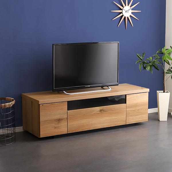 テレビ台 32型 完成品 収納付き 木製 幅120 日本製 ローボード 北欧