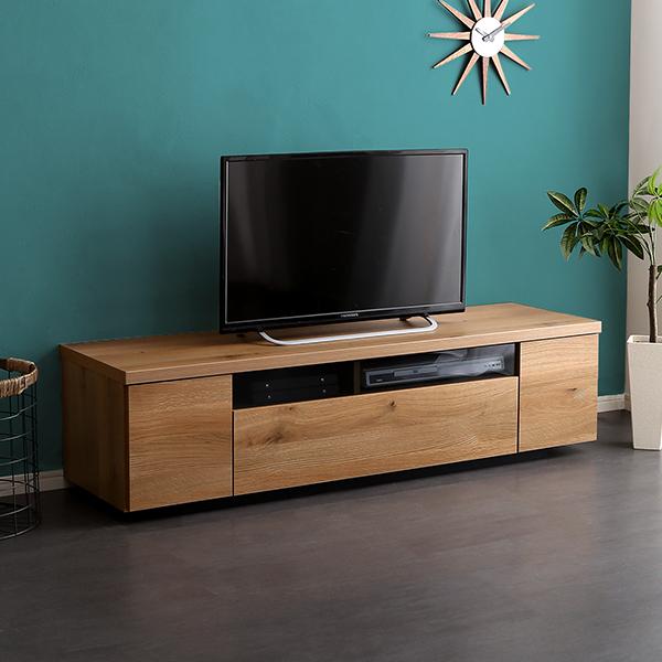 50インチ テレビ台 ロータイプ 木製 幅140 ローボード 日本製
