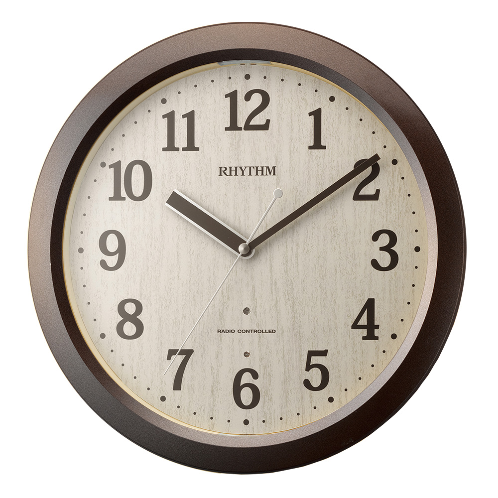 掛け時計 電波 おしゃれ 電波時計 壁掛け シンプル 小 壁掛け時計 時計 掛時計 クロック 送料無料 インテリア ウォールクロック デザイン時計 丸時計 丸 アンティーク デザイン かわいい 見やすい ギフト 軽量 北欧 小 ナチュラル