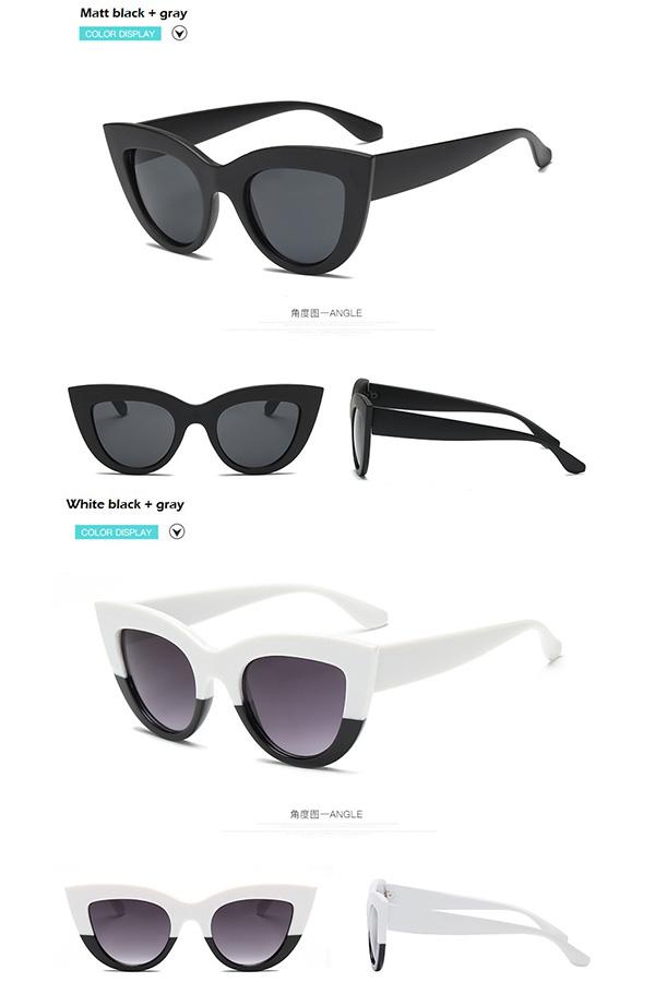 0c447d77de2e8 diva-closet  The color lens sunglasses Harajuku system orange pink ...