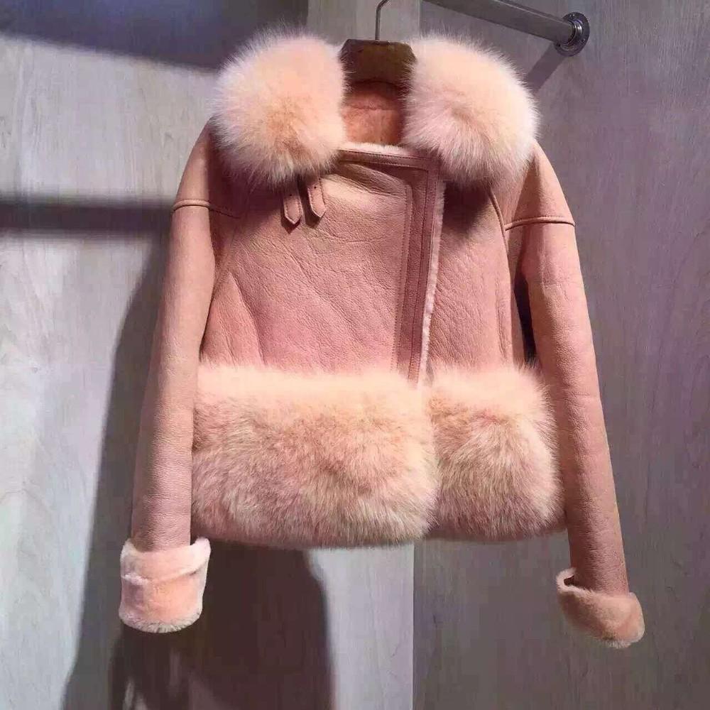 高級 本物 シープスキン レザージャケット セレブブランドリアル スエード 毛皮 コート ファーコート 20代 30代 40代 ファッション コーディネート【着用動画】