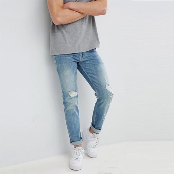 ASOS メンズ ボトム メンズ デニム ズボン パンツ/スリムジーンズ 大きいサイズ インポート エクストリームスーパースキニーフィット スウェットパンツ ジーンズ ジーパン 20代 30代 40代 ファッション コーディネート 小さいサイズあり