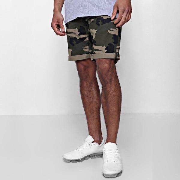 e75b66fc5b1d4 diva-closet: boohoo (Buch) slim fitting short pants Chino shorts ...