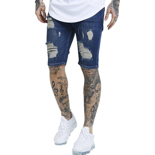 4886400907 Fashion coordinates fashion trend damage denim short pants Kinney short  denim denim shorts half denim Japanese ...