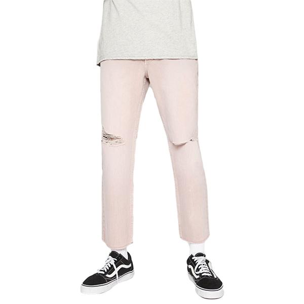 LA発!PacSun(パクサン) ダメージスリムパンツ ダメージ ストレッチ クロップド ジーンズ メンズ スリムフィット スキニー ダメージ 破れ インポートブランド ハイストリート 男性 大人 20代 30代 40代 50代 トレンド ファッション コーディネート インポートブランド