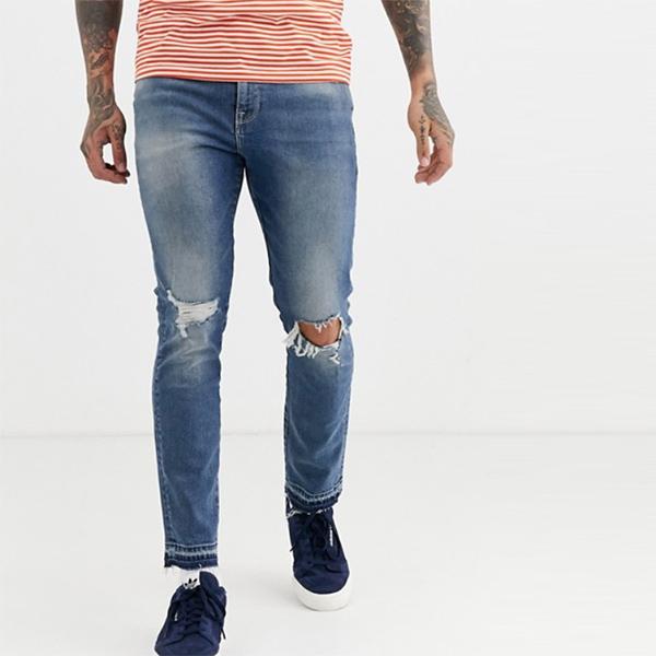 asos ASOS エイソス メンズ ボトム メンズ デニム ズボン パンツ/スーパーストレッチデニム 大きいサイズ インポート エクストリームスーパースキニーフィット スウェットパンツ ジーンズ ジーパン 20代 30代 40代 ファッション コーディネート 小さいサイズあり