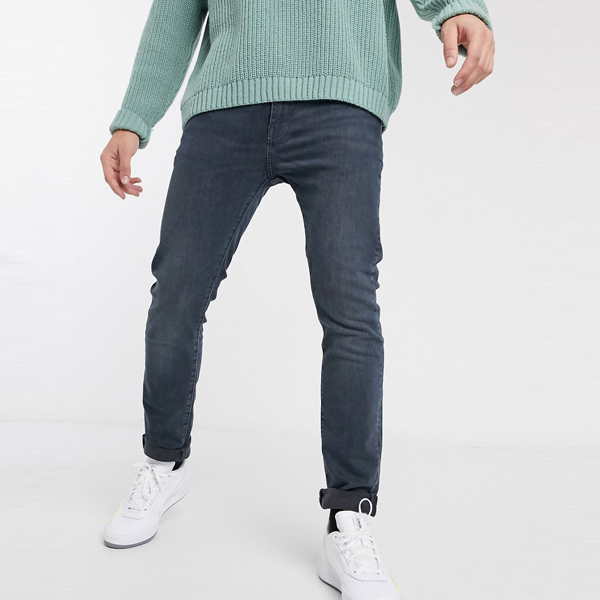 Levi's リーバイス asos ASOS エイソス メンズ Levi's 510 ツタ 高度 ミッドウォッシュ スキニー フィット 標準 ジーンズ 大きいサイズ インポート エクストリームスーパースキニーフィット スウェットパンツ ジーンズ ジーパン 20代 30代 40代 ファッション コーディネート