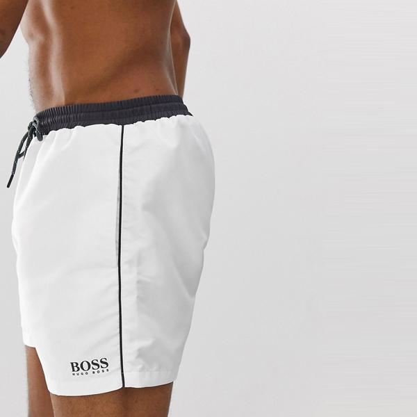 HUGO BOSS ヒューゴ ボス asos ASOS エイソス メンズ BOSS Star Fish ASOS 白独占 水泳パンツ 大きいサイズ インポート エクストリームスーパースキニーフィット スウェットパンツ ジーンズ ジーパン 20代 30代 40代 ファッション コーディネート