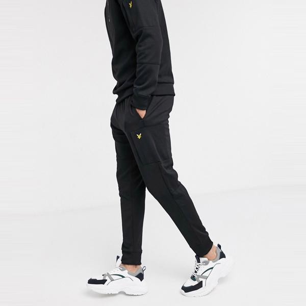 ASOSセレクト Lyle & Scott asos ASOS エイソス メンズ Lyle & Scottブラック スキニー ポケット ジョギング 大きいサイズ インポート エクストリームスーパースキニーフィット スウェットパンツ ジーンズ ジーパン 20代 30代 40代 ファッション コーディネート