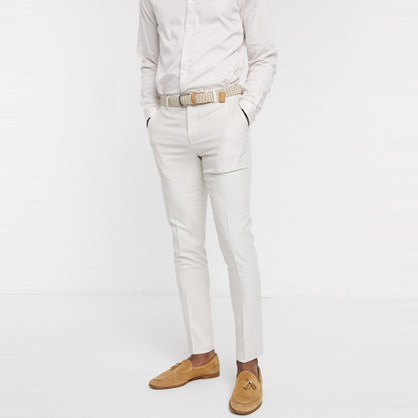 asos ASOS エイソス メンズ ASOS DESIGN アイスグレー スキニー パンツ 大きいサイズ インポート エクストリームスーパースキニーフィット スウェットパンツ ジーンズ ジーパン 20代 30代 40代 ファッション コーディネート