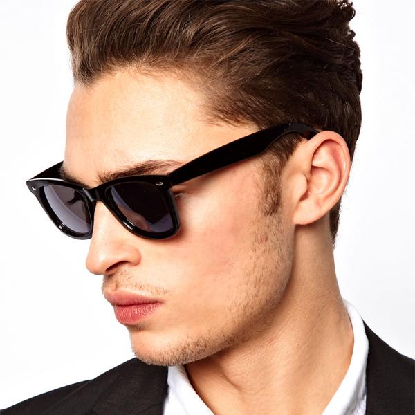 a36957a408  ASOS   men sunglasses   sunglasses   インポートエイソス   frame sunglasses   black  sunglasses