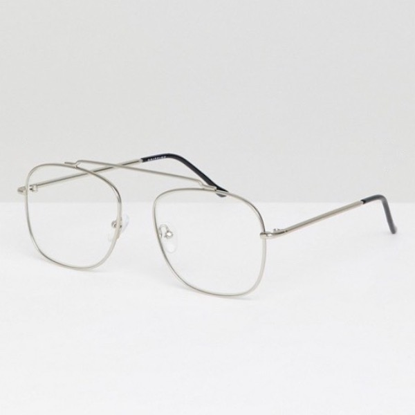 21c1561d7da ASOS select Spitfire men square clear lens glasses glasses トレンドブラックエイソス  asos party sunglasses fashion coordinates stylish casual adult in ...