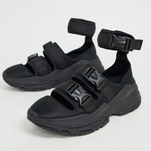asos ASOS エイソス 分厚いソールサンダル シューズトレンド シューズ メンズ 靴 20代 30代 40代 ファッション コーディネート アウトフィット アウトドアー オシャレ 大人 カジュアル 小さいサイズあり
