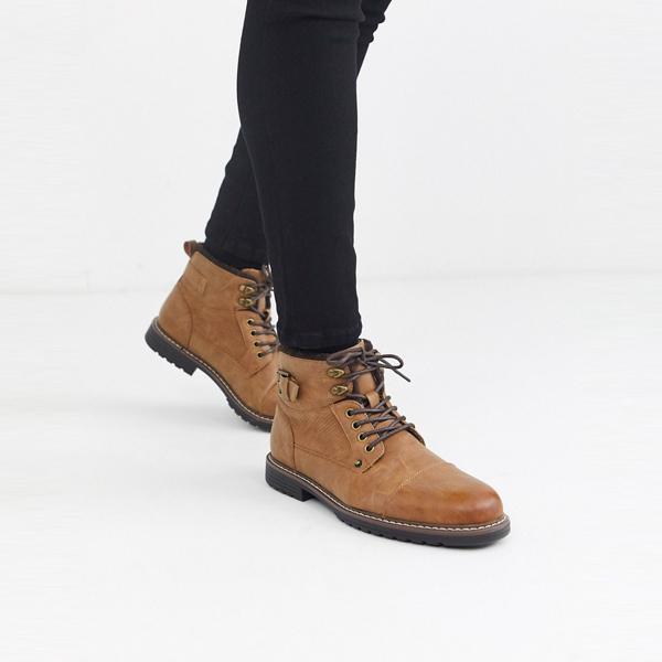 靴 シューズ ASOSセレクト River Island asos ASOS エイソス メンズ River Island 日焼け ブーツ 大きいサイズ インポート エクストリームスーパースキニーフィット スウェットパンツ ジーンズ ジーパン 20代 30代 40代 ファッション コーディネート
