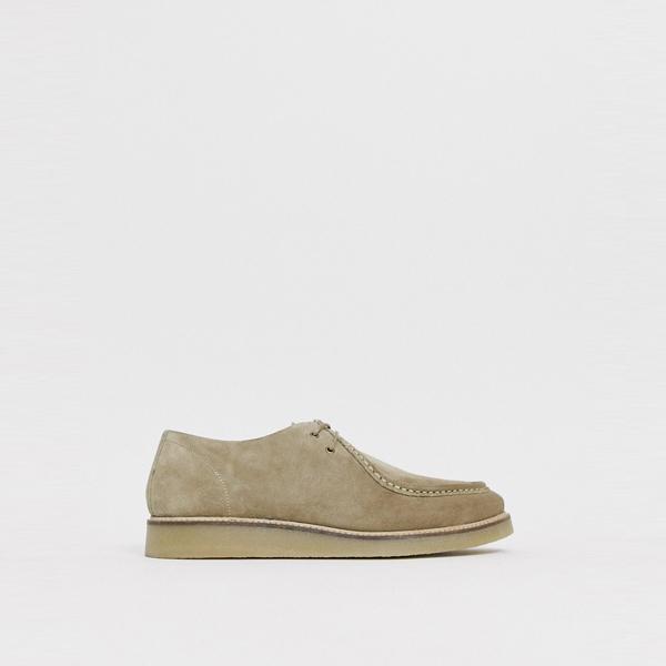靴 シューズ asos ASOS エイソス メンズ ASOS DESIGN 石 スエード 靴 ひも 締めます 大きいサイズ インポート エクストリームスーパースキニーフィット スウェットパンツ ジーンズ ジーパン 20代 30代 40代 ファッション コーディネート
