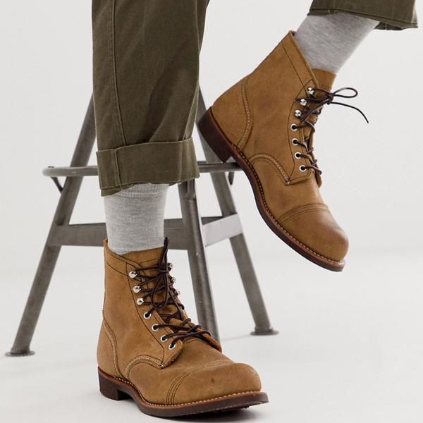 靴 シューズ Red Wing レッドウィング asos ASOS エイソス メンズ ホーソーン スエード 起動 鉄 レンジャーレース 大きいサイズ インポート エクストリームスーパースキニーフィット スウェットパンツ ジーンズ ジーパン 20代 30代 40代 ファッション コーディネート