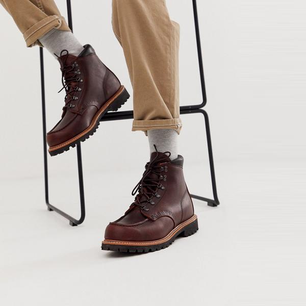 靴 シューズ Red Wing レッドウィング asos ASOS エイソス メンズ Red Wing ブライヤー oilslick 革 製材ハイカーブーツ 大きいサイズ インポート エクストリームスーパースキニーフィット スウェットパンツ ジーンズ ジーパン 20代 30代 40代 ファッション コーディネート