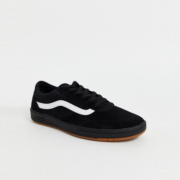 靴 シューズ Vans ヴァンズ asos ASOS エイソス メンズ Vans Cruze CC ブラック トレーナー 大きいサイズ インポート エクストリームスーパースキニーフィット スウェットパンツ ジーンズ ジーパン 20代 30代 40代 ファッション コーディネート