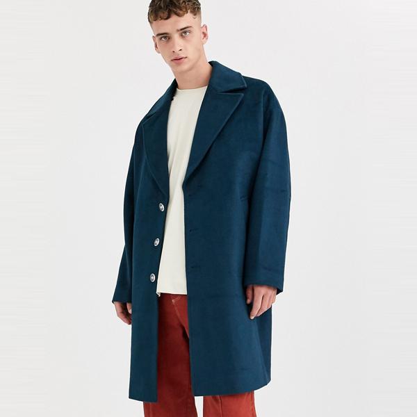 asos ASOS エイソス メンズ ASOS WHITE ウール ミックス オーバーコート 大きいサイズ インポート エクストリームスーパースキニーフィット スウェットパンツ ジーンズ ジーパン 20代 30代 40代 ファッション コーディネート