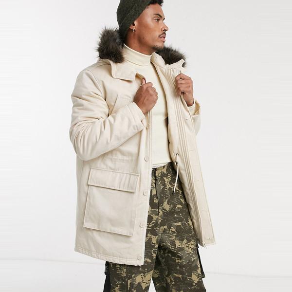 asos ASOS エイソス メンズ ASOS DESIGN 石 キルト 裏地付き パーカー ジャケット 大きいサイズ インポート エクストリームスーパースキニーフィット スウェットパンツ ジーンズ ジーパン 20代 30代 40代 ファッション コーディネート