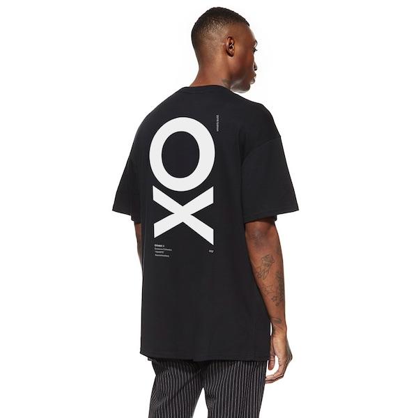 Other UK(アザーユーケー)メンズ トップス ハーフスリーブ Tシャツ 半袖 ロゴ プリント バックプリント クルーネック オーバーサイズ 20代 30代 40代 ファッション コーディネート 大きいサイズ オシャレ トレンド インポート アウトフィット