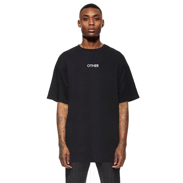 Other UK(アザーユーケー)メンズ トップス ハーフスリーブ Tシャツ 半袖 ロゴ プリント クルーネック オーバーサイズ 20代 30代 40代 ファッション コーディネート 大きいサイズ オシャレ トレンド インポート アウトフィット