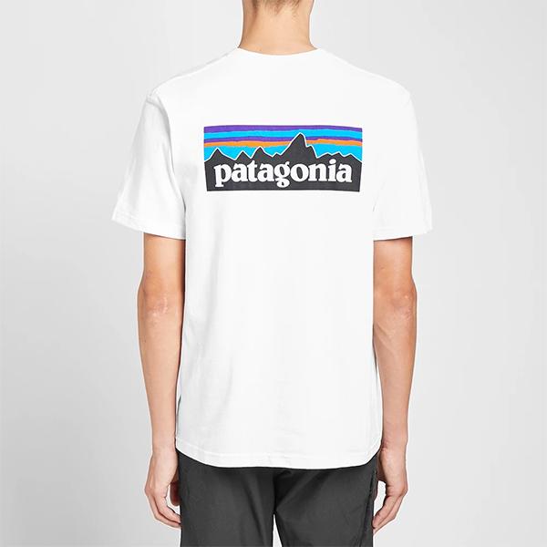 PATAGONIA パタゴニア patagonia Tシャツ WHITE  メンズ コットン トップス プルオーバー メンズ 長袖 ロングスリーブ フェス トレンド インポート 大きいサイズあり 流行 最新 メンズカジュアル